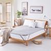博洋家纺床褥床垫 四季可水洗床褥 可折叠席梦思保护床垫  180*200cm 99元