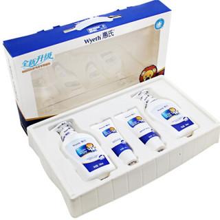 Wyeth 惠氏 宝宝洗发沐浴露洗护套装新生儿礼盒 4件套