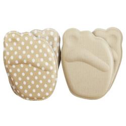 优家非粘贴型4D加厚海绵防痛防滑前掌垫2对装 *16件