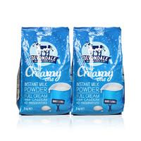 Devondale 德运 高钙全脂牛奶粉 1000g*2袋