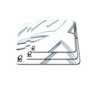 酷倍达(QPAD ) CT鼠标垫常规黑白款游戏鼠标垫 Hybratek涂层 瑞典进口鼠标垫吃鸡垫 CT白色中号330X255X4MM