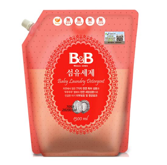 B&B 保宁 纤维洗涤剂 1300ml