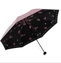 18日10点前10分钟:天堂 黑胶三折 晴雨伞