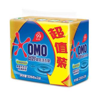OMO/奥妙99 超效洗衣皂 226g*3