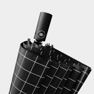 Neyankex 十骨三折全自动伞 格纹