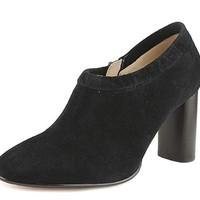 Clarks LOLA  女士羊皮高跟女靴