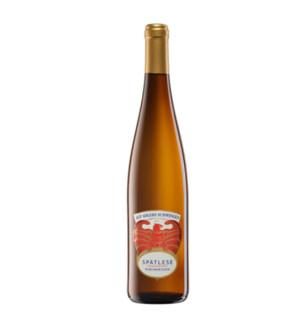 Rheinhessen 莱茵黑森 雷司令桃花鹰晚收甜白葡萄酒 小甜水 750ml