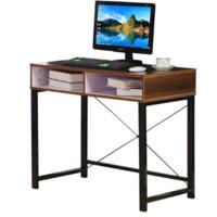 双箭 斯瓦洛学习桌 书桌电脑桌写字桌 深木纹色 SJ-1815