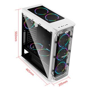 Segotep 鑫谷 LUX重装版 机箱 白色
