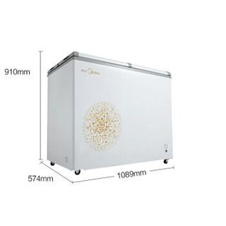 Midea 美的 BCD-220VM(E) 220升 冰柜