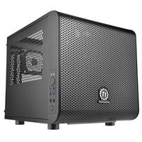 Thermaltake 曜越 Core V1 黑色 ITX机箱(前置200mm风扇)