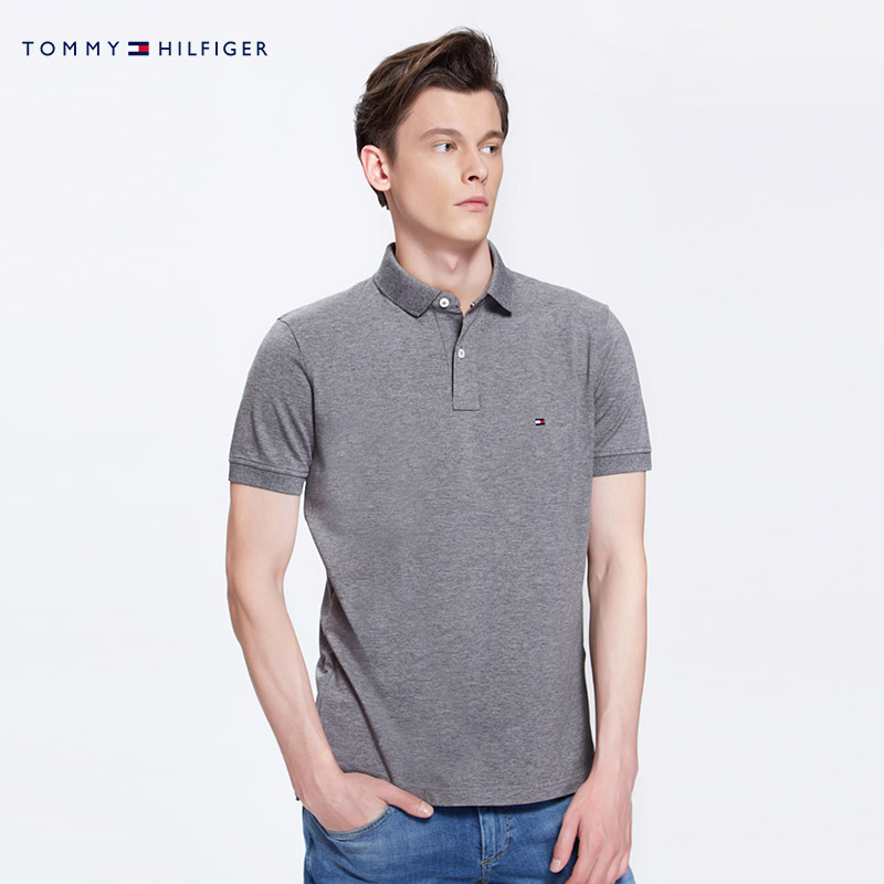 TOMMY HILFIGER 汤米·希尔费格 MW0MW04119OS 男士短袖POLO衫