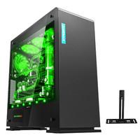 GAMEMAX 游戏帝国 电竞2号 黑色 ATX机箱(双侧透、支持E-ATX主板)