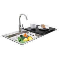 FOTILE 方太 JBSD2T-X1S 嵌入式水槽洗碗机 6套 黑色