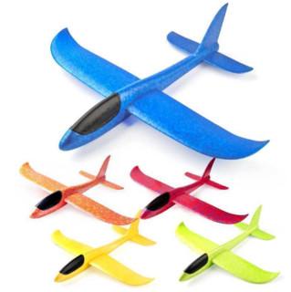汇奇宝 手掷泡沫飞机模型 35*33CM蜂鸟号 颜色随机