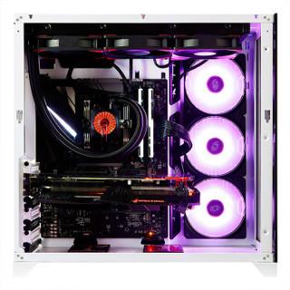 LIANLI 联力 包豪斯-O11 白色 ATX机箱(单侧透、支持E-ATX主板)