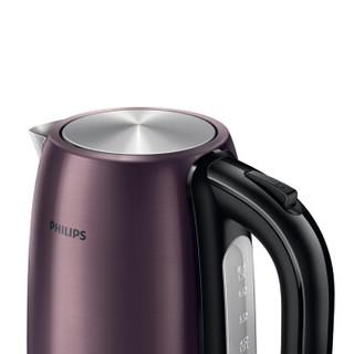 PHILIPS 飞利浦 HD9333/21 电水壶 1.7L 富贵紫