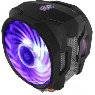 COOLERMASTER 酷冷至尊 T610P CPU风冷散热器(单塔双风扇6热管、兼容4厂主板RGB灯效)