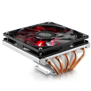 COOLERMASTER 酷冷至尊 暴雪T520 CPU风冷散热器(下吹式、多平台、红光)