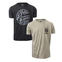 RINGSPUN Alpha Eagle 男士军事风印花T恤 2件装  *4套