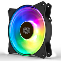 COOLERMASTER 酷冷至尊 MasterFan MF120R 机箱风扇 120mm RGB *3件