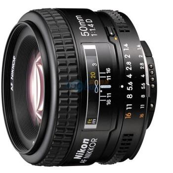 Nikon 尼康 AF 50mm f/1.4D 标准定焦镜头