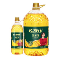 长寿花 玉米食用油 5.436L