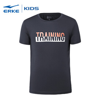 ERKE 鸿星尔克 63218219061 男童短袖针织衫