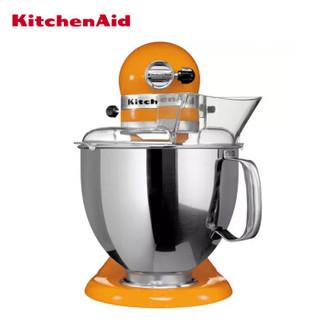凯膳怡(KITCHENAID) 5KSM150PS美国原装进口厨师机家用多功能搅拌机料理机KA和面机 4.8L 活力橙 5KSM150PSCTG