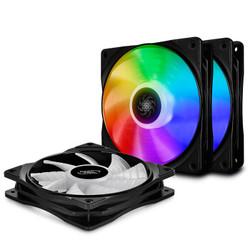 DEEPCOOL 九州风神 魔影CF120 ADD-RGB机箱风扇(3X套装、兼容4厂RGB灯效) *3件