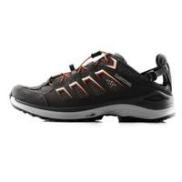 LOWA户外野外越野跑鞋男轻便透气麦迪逊男式跑步低帮鞋L410481027 (石墨色/橙色、41)