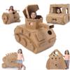 Prointxp 普智 手工DIY纸壳玩具 坦克