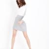 NEW LOOK 553529904 女士羊毛混纺包臀半身裙