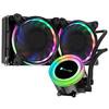 乔思伯(JONSBO)TW2-240(601版) 一体式CPU水冷散热器 (RGB七彩流光冷头/12CM温控风扇/多平台/附带硅脂) 319元