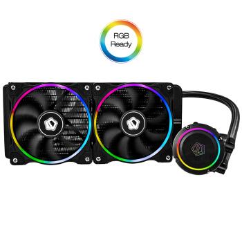 ID-COOLING CHROMAFLOW 240 ADD-RGB 一体式CPU水冷散热器(多平台、红外灯效控制)