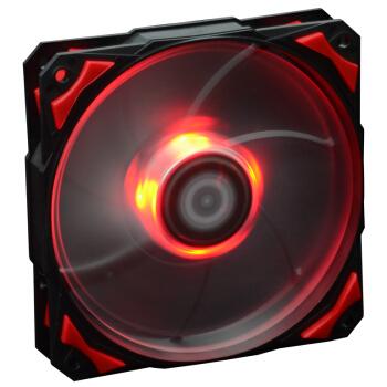 ID-COOLING PL-12025-R LED红光 PWM机箱风扇
