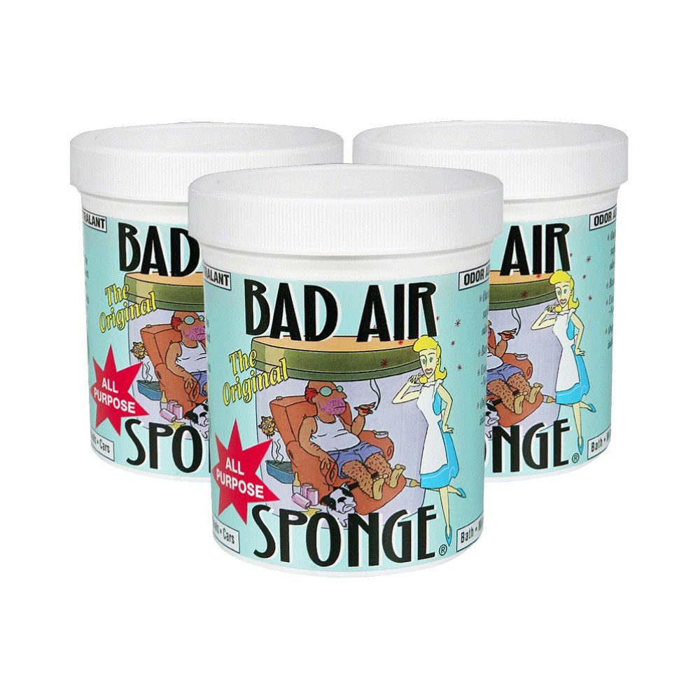 BAD AIR SPONGE 空气净化剂 400g*3瓶