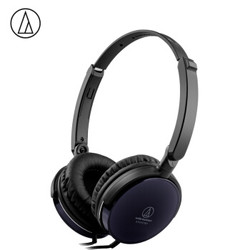 铁三角 FC707 折叠便携头戴式音乐耳机 黑色 手机耳机 立体声