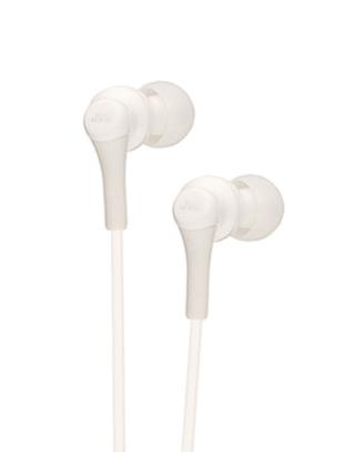 JVC 杰伟世 HA-FX26 入耳式耳机 白色