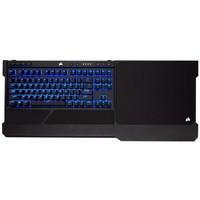 CORSAIR 美商海盗船 K63 无线机械键盘 87键 红轴 蓝色单光 + 托板