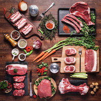 网易味央 黑猪肉 全年至味配送(24次配送+赠1味央礼盒) (350克*99份)