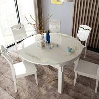双虎家私 802 餐桌椅组合 一桌四椅