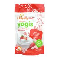 HAPPYBABY 禧贝 婴儿有机酸奶溶豆 草莓味 28g (8个月以上)