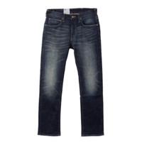 Lee 李 LML724Z025DA 男士中腰修身直筒牛仔裤