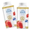 蒙牛 冠益乳 风味发酵乳 草莓风味酸奶 250g *12件 62元(合5.17元/件)