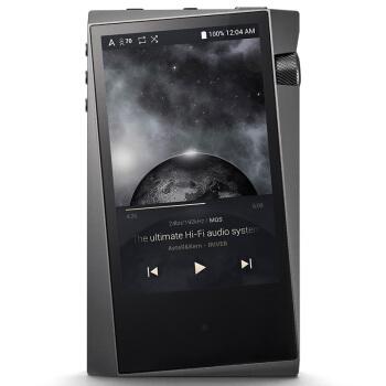 Iriver 艾利和 A&norma SR15 音频播放器 (64GB、深灰色)