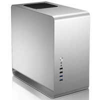 JONSBO 乔思伯 UMX3  MINI-MATX机箱 (银色、188MM (宽) * 358MM (深) * 365MM (高))