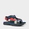 ZARA 12731302202 男士多色细带沙滩凉鞋