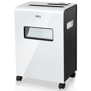 deli 得力 9911 碎纸机 (办公商用碎纸机、纸,光盘,卡,回形针、订书针、碎纸幅面A4、16L、4级)