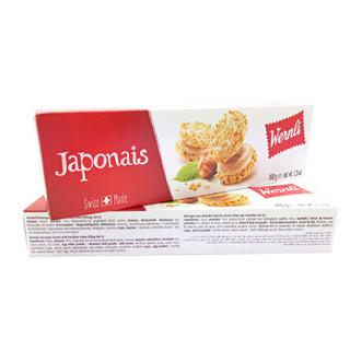 Wernli 万恩利 榛子奶油夹心 扁桃仁味饼干 100g
